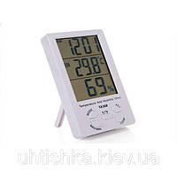 Цифровой термометр часы гигрометр ТА308, фото 1