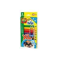 Набор восковых цветных карандашей серии  серії MY FIRST -Радуга(8 цветов)