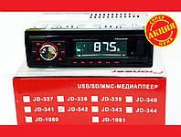 Автомагнитола Pioneer JD-342 ISO Usb+Sd+Fm+Aux+ пульт (4x50W), фото 1