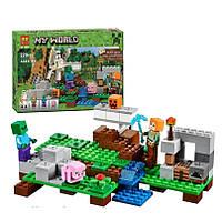 Конструктор Bela 10468 Железный голем Майнкрафт, Minecraft, 220 деталей