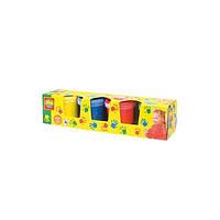 Пальчиковые краски  Мои первые рисунки 4 цвета в пластиковых баночках