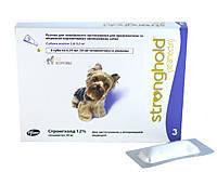Капли стронгхолд 30 для собак 2,5-5 кг 0,25мл (фиолетовый №3 PFIZER