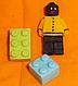 """Молд силиконовый """"Лего человечик"""" 4,7 см 3,7 см, фото 2"""