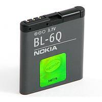 Аккумуляторная батарея ОРИГИНАЛЬНАЯ для Nokia 6700 classic, GRAND Premium BL-6Q(1 год гарантии)