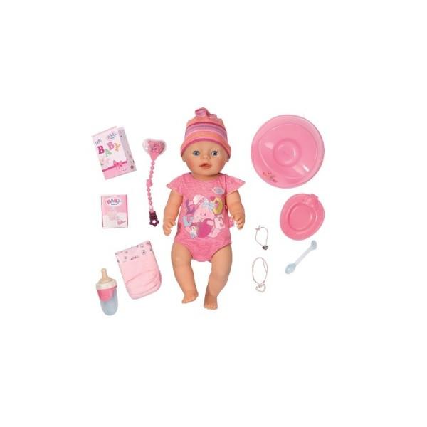 Кукла BABY BORN - ОЧАРОВАТЕЛЬНАЯ МАЛЫШКА 43см с аксессуарами