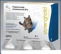 Капли стронгхолд 45 для кошек 2,6-7,5 кг 0,75 мл (голубой) №3 PFIZER
