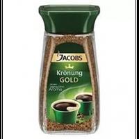 Кофе растворимый Jacobs Kronung  Gold, 200 г