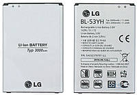 Аккумуляторная батарея ОРИГИНАЛЬНАЯ для LG D851, GRAND Premium LG BL-53YH G3 (1 год гарантии)