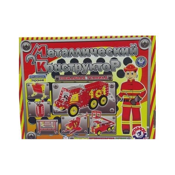Конструктор металлический Пожарная техника
