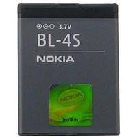 Аккумуляторная батарея ОРИГИНАЛЬНАЯ для Nokia 3600 Slide, GRAND Premium Nokia BL-4S (1 год гарантии)
