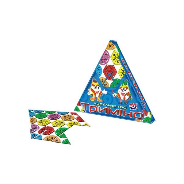 Настольная игра Тримино ТехноК