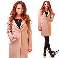 Женское пальто кашемировое  черное или бежевое