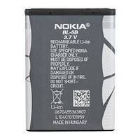 Аккумуляторная батарея ОРИГИНАЛЬНАЯ для Nokia 5300 Xpress Music, GRAND Premium Nokia BL-5B (1 год гарантии)
