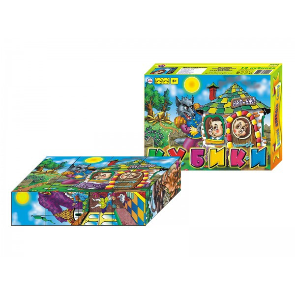 Кубики Сказки народов мира