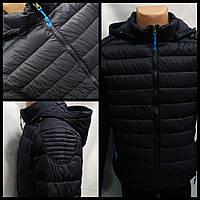 Куртка демисезонная стеганая X, т/син.