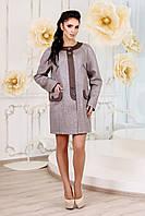Стильный женский серый кардиган В-1005 EU-2564 Тон 3 44-64 размеры