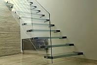 Стеклянные полы и лестницы
