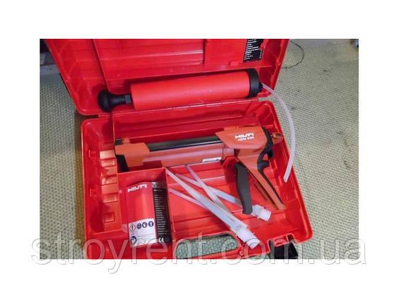 Ручной дозатор для химических анкеров Hilti HDM 500 - аренда, прокат, фото 2