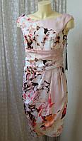 Платье летнее атласное Vera Mont р.42 7454