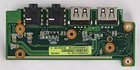 Плата с разъемами 69N0EKA10C02-01 для  Asus UX50V KPI30755