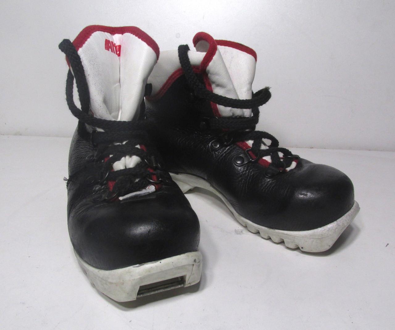 Ботинки лыжные ALFA, 31, кожа, NNN