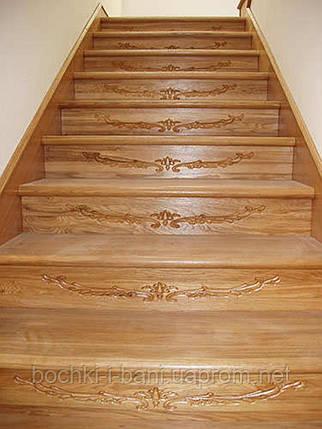 Элементы лестниц. Подступенки из массива., фото 2