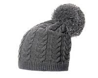 Зимняя стильная шапка с помпоном для молодых женщин от VEILO