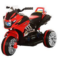 Детский трехколесный мотоцикл Bambi BI318C-3, красный ***