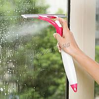 Щетка для мытья окон с распылителем