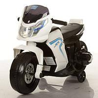 Детский мотоцикл-толокар M 3257-1 белый***
