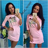 """Платье""""подружки"""" Ткань- креп Размер с-м Цена 330грн Розовый, голубой, Черный, марсала, изумруд, бежевый"""