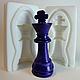 """Молд силиконовый """"Шахматы Король"""" 3Д 6,4 см 2,5 см, фото 2"""