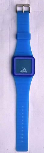 Часы Adidas силиконовые прямоугольный корпус