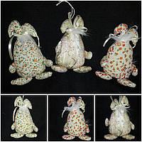 """Стильный кролик """"Веселун"""" 18-19 см (ручная работа), 65/75 за 1шт. +10 гр"""