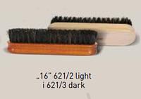 Щётка полировочная для обуви с кожаных изделий или эко кожи. 16 см . Coccine 621/2