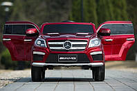 Детский электромобиль Mersedes Benz ML-63 красный***