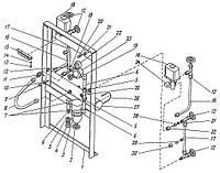 Пневмораспределитель компрессора 4ВМ10-120/9