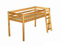 Кровать-чердак деревянная ГНОМИК (80х190 см)