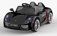 Легковой детский электромобиль T-767 BLACK с MP3 120*62.5*49
