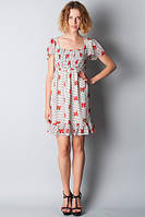 Платье-туника из шифона П155