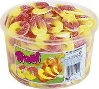 Желейные конфеты Персиковые кольца Trolli Pfirsich Ringe 1200гр. 150шт.