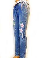 Модные, стильные, весенние джинсы для девочек от 4 до 12 лет (98-146см.) Yilihao. Польша.