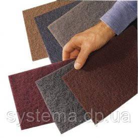 Шлифовальный лист скотч-брайт, 158 х 224 мм, A VFN, бордовый - 3M 07447+ Scotch-Brite CF-HP, фото 2