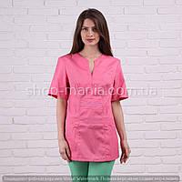 Блуза медицинская женская котоновая Graciya (40-58р)