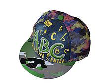 Джинсовая кепка АВС (сеточка)