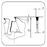 Пила циркулярные 425*50*24+4*2,8/4,3 для многопильных станков