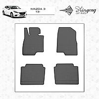Коврики резиновые в салон Mazda 3 c 2013 (4шт) Stingray