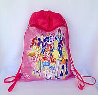 """Рюкзак мешок для сменной обуви """"Друзья"""" с дополнительным карманом на молнии"""