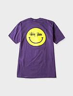Футболка | Stussy patta smiley tee logo |