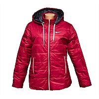 Куртка теплая женская больших розмеров K1227G